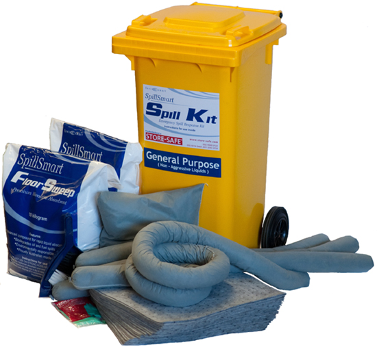 Commercial spill kit